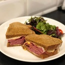 [Classic Reuben-$18]  Loved the bread, which was soft and fluffy yet perfectly crisp on the edges!