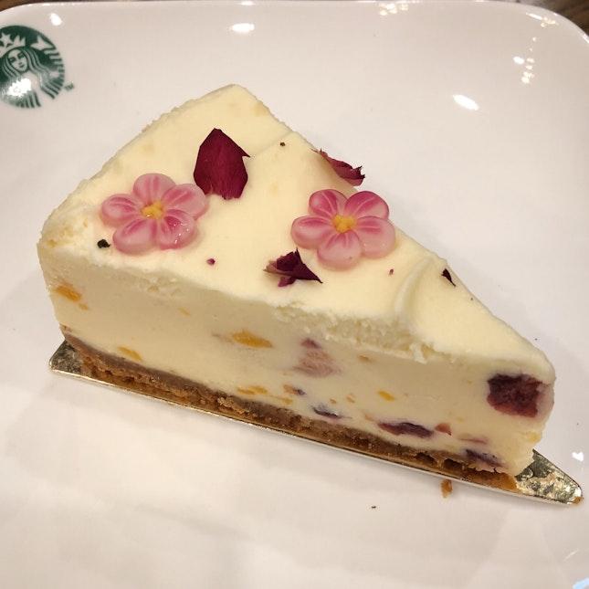 Lychee Cheesecake ($6.50)