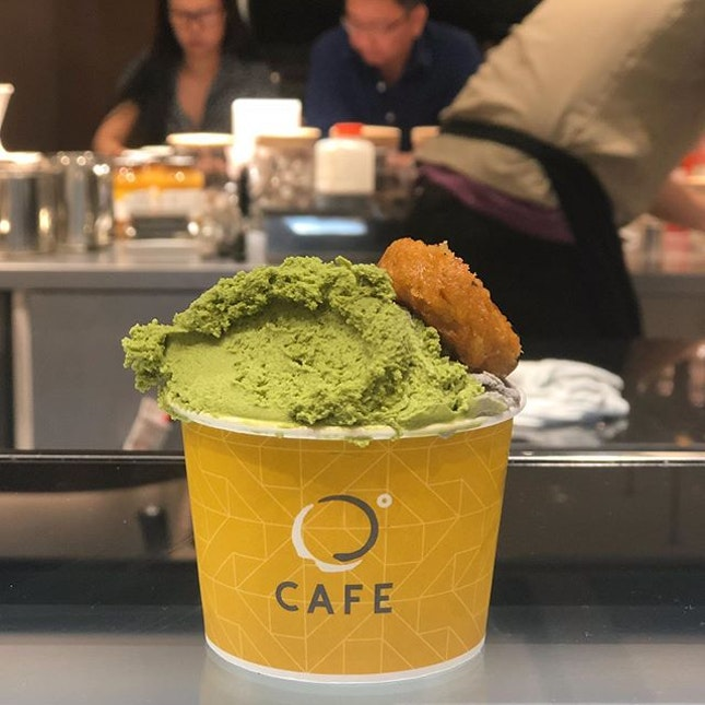 The Japanese Gelato here is a must try!