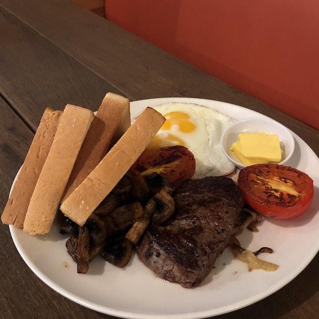 Steak And Eggs ($27)