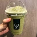 Genmaicha Latte Ice Blend ($6)