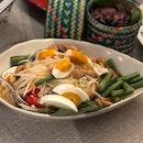 Thai Papaya Salad With Salted Egg ($10.50)