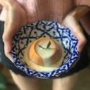 Thai Milk Tea Pudding ($5.50)