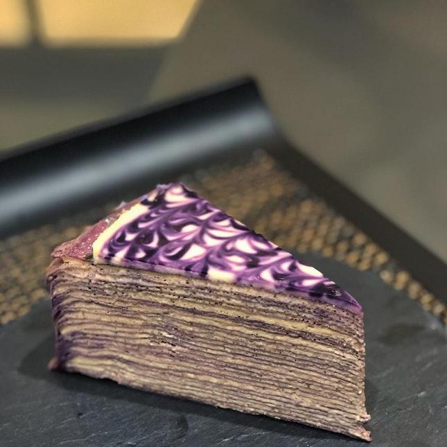 Lavender Earl Grey Mille Crepe ($9)