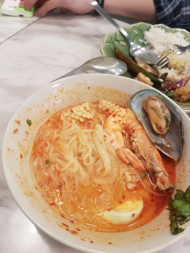 Loved The Spiciness Of The Tomyam Noodles