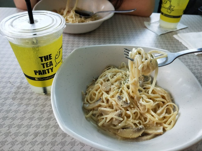 Wild? Mushroom Pasta