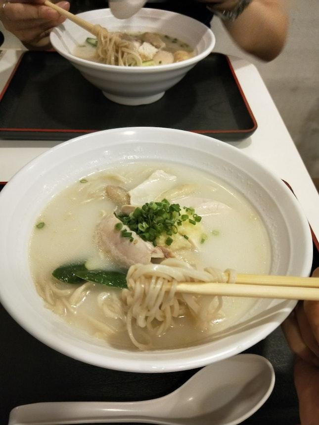 Healthy Chicken Rice Soba