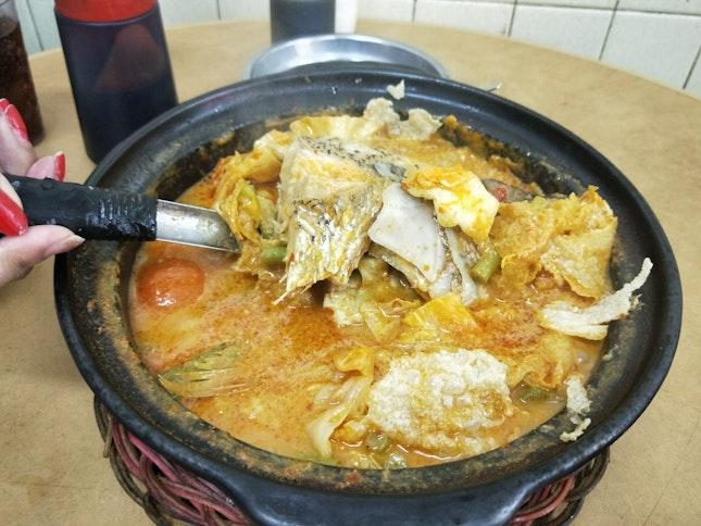 [JB] Creamy Rich Fishhead Curry