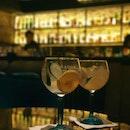 Retro speakeasy bar
