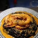 Squid Ink Rice With Seafood