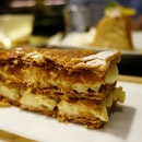Vanilla bean millefeuille at the 3 Michelin ⭐⭐⭐ @joel_robuchon_singapore .