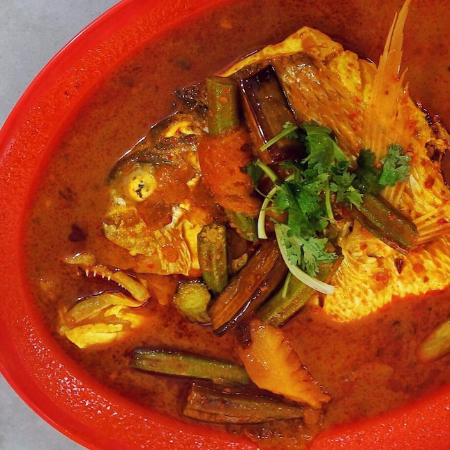 Assam Curry Fish Head