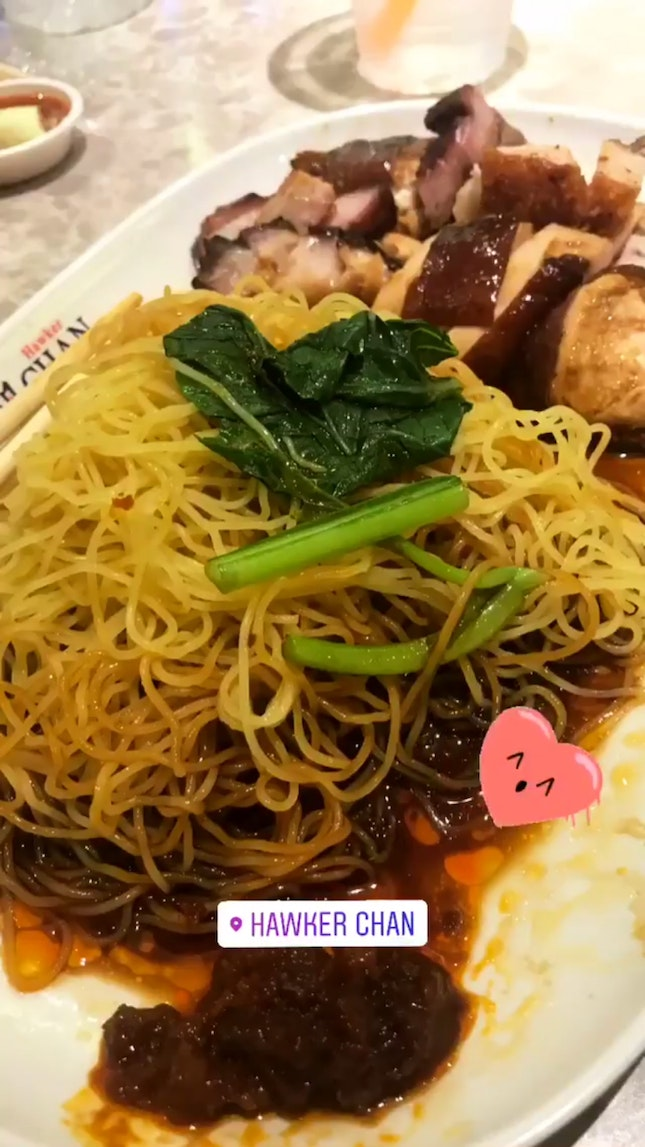 Amazing Roast Meat And Great Noodle