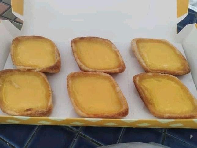 Singaporean Egg Tart