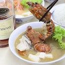 A spoonful liquor for your seafood soup, anyone?😋 Well, the original soup itself is already delicious and satisfying actually!