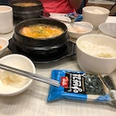 Spicy tofu seafood soup set