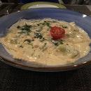 {L'Operetta Corner Bar} This dish right here is the Ravioli di ricotta e spinaci 🍝and the ravioli was actually beautiful.