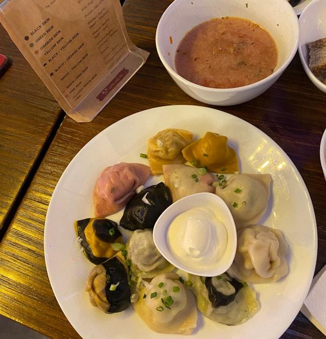 Delicious russian dumplings!