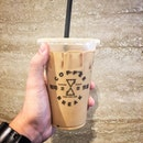 Macadamia Latte - -  I am sure almost everyone have heard of Coffee break, the well known hawker stall which sells unconventional coffee and toast!