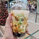 R&B, Brown Sugar Boba Milk with Cheese BruleeStill a fan R&B's rendition of brown sugar boba milk, and decided to give their cheese brulee a try.