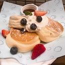 Poofy Pancakes ($14)