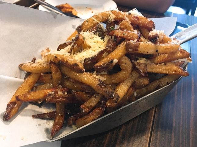 Little Diner Truffle Fries ($16.50)