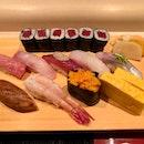 Nigri Sushi Tokusen ($60)