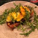 Organic Egg Benedict ($24)