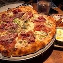 not-so Black Magic pizza.