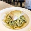 Pesto Olio With Seabass