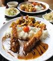 👉Japanese Curry Rice With Nacho Cheese Tori Karaage & Ebi Fry👈