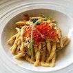 👉 Strozzapreti Pasta with Crab, Prosecco & Salmon Caviar 👈