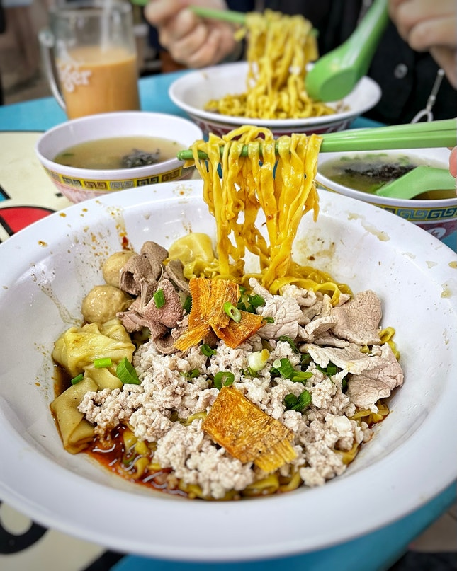 Is this your favourite Bak Chor Mee 肉脞面 stall in 🇸🇬?
