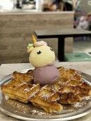 Unicorn Waffles!