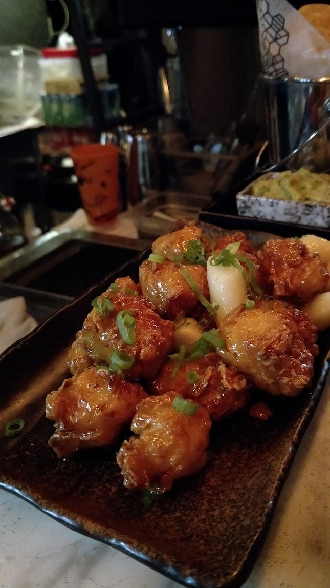 Honey Butter Chicken