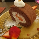 Chocolate Strawberry Roll