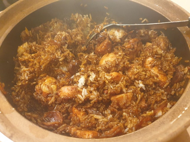 Claypot Rice Small For 2 Pax At $15