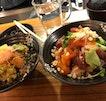 Chirashi Bowl with Brown Rice