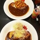 😋😋😋 Monster Curry Chicken Katsu ($13) & Cheese Chicken Katsu ($14)!