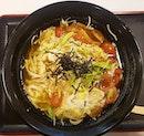 😋😋😋 Healthy Soba Iki Tomato Egg Soba with Chicken Slices ($13)!