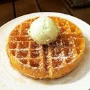 Holy Cow Creamery Waffles!