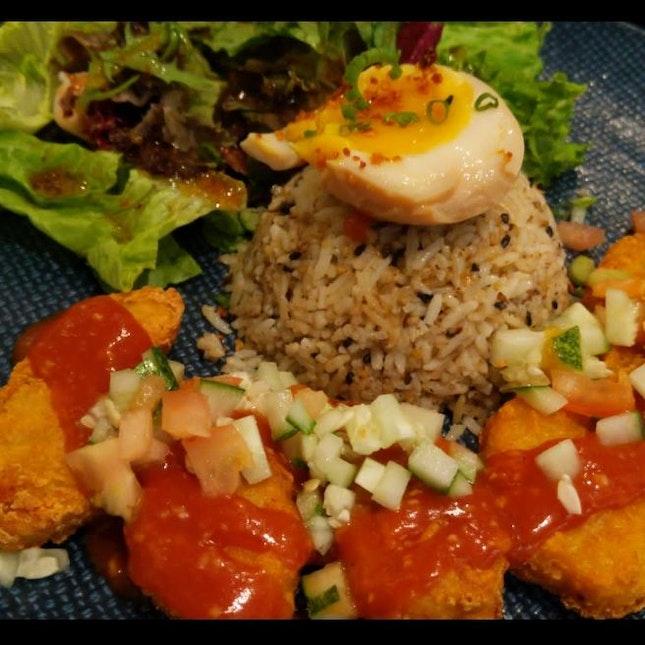 Hainanese Cocktail Fish Bites With Furitake Garlic Butter Rice $15