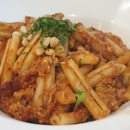 Chilly Crab Pasta $25