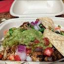Mini burrito bowl with avocado $10