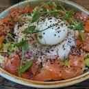 Salmon Rice $14++