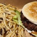burger meal $10