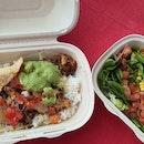 Mild Chicken Burrito Bowl $10