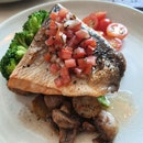 Salmon Steak $34