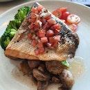 Salmon Steak $34
