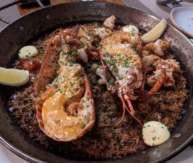 THE SEAFOOD PAELLA - $72++